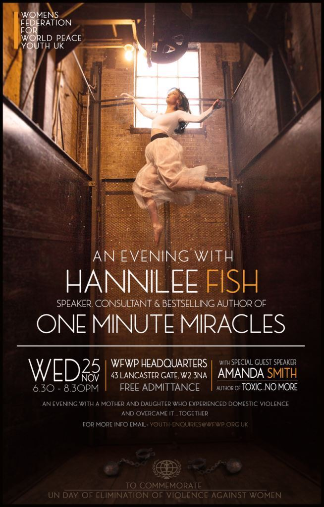 an evening with hannilee fish sm
